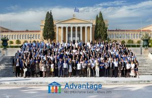 NEC Business Partners at the NEC EMEA Partner Conference 2015 in Athens